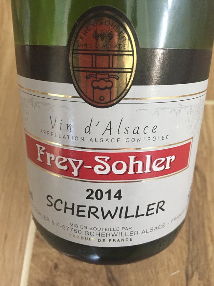 Frey-Sohler – Riesling 2014 – Scherwiller – Alsace