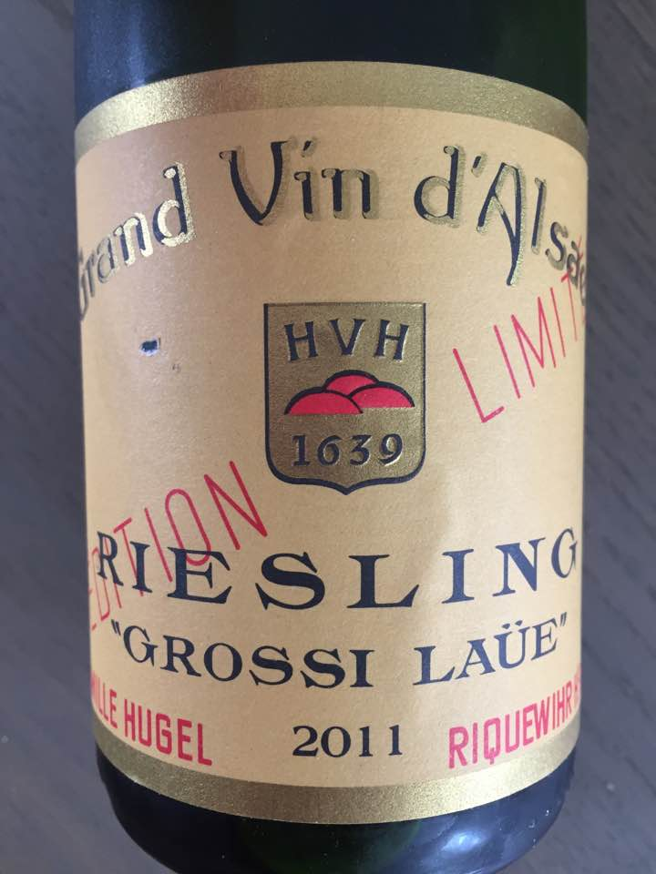 Hugel – Riesling Grossi Laüe 2011 – Edition Limitée – Alsace