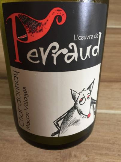 L'œuvre de Perraud – Chardonnay 2015 – Mâcon Villages