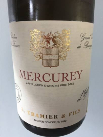 L. Tramier & Fils – Collection 2015 – Mercurey