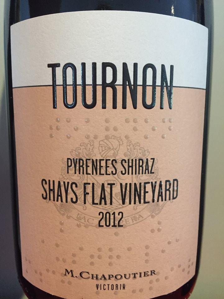 M. Chapoutier – Tournon – Pyrenees Shiraz 2012 – Shays Flat Vineyard – Victoria