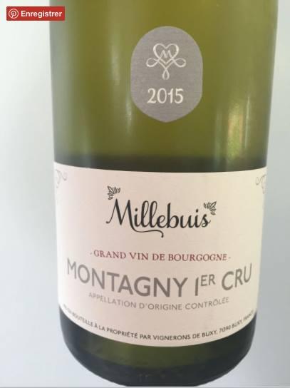 Millebuis 2015 – Montagny 1er Cru