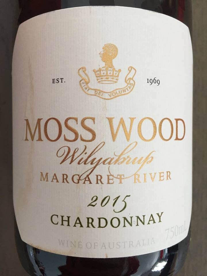 Moss Wood – Wilyabrup Chardonnay 2015 – Margaret River