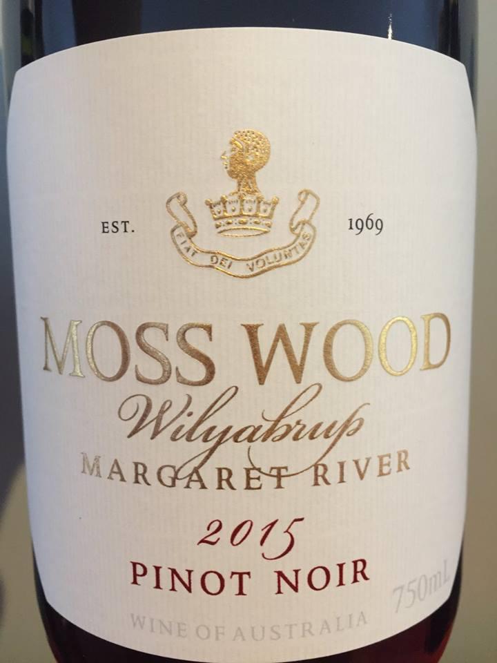 Moss Wood – Wilyabrup – Pinot Noir 2015 – Margaret River