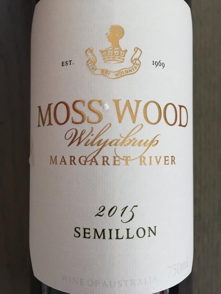 Moss Wood – Wilyabrup Semillon 2015 – Margaret River