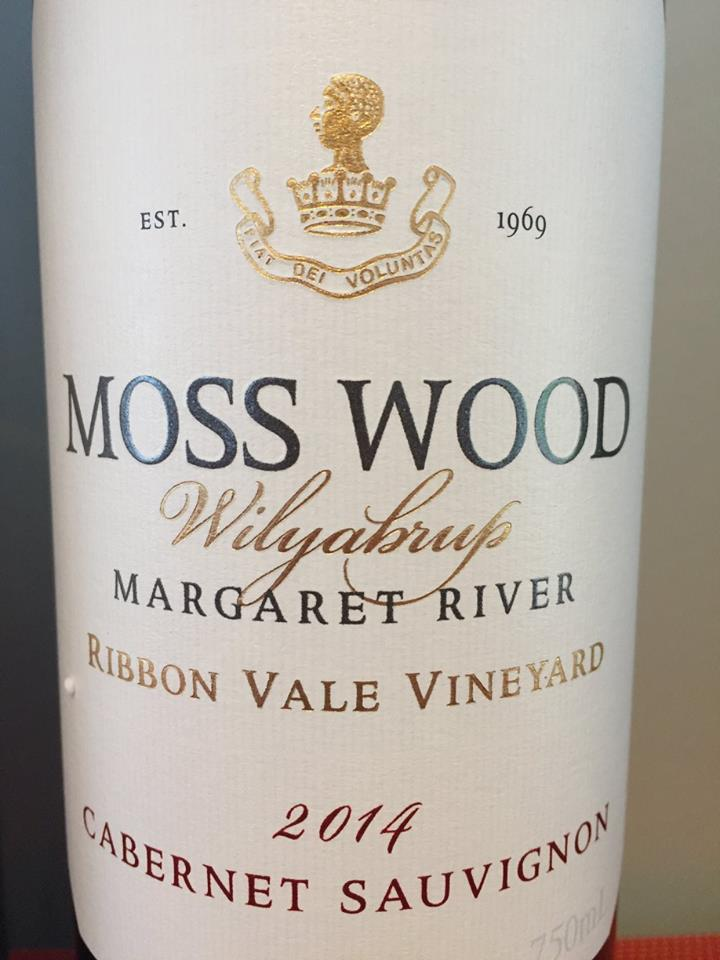 Moss Wood – Wilyaburp – Cabernet Sauvignon 2014 Ribbon Vale Vineyard – Margaret River