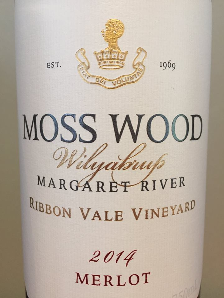 Moss Wood – Wilyaburp – Merlot 2014 – Ribbon Vale Vineyard – Margaret River