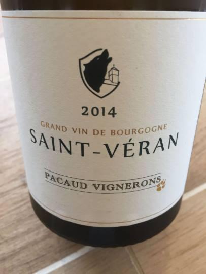 Pacaud Vignerons 2014 – Saint-Véran