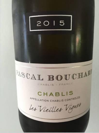 Pascal Bouchard – Les Vieilles Vignes 2015 – Chablis