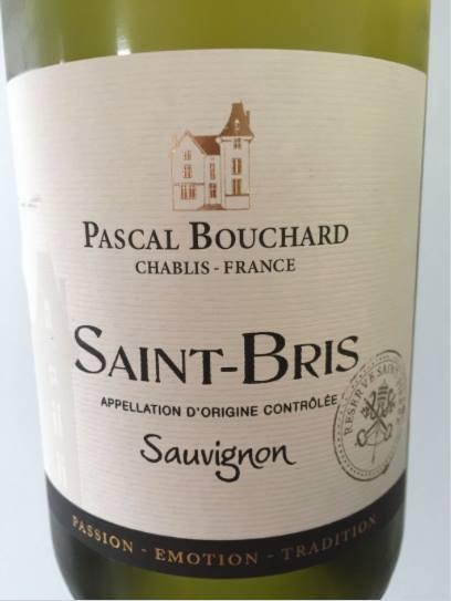 Pascal Bouchard – Sauvignon 2015 – Saint-Bris