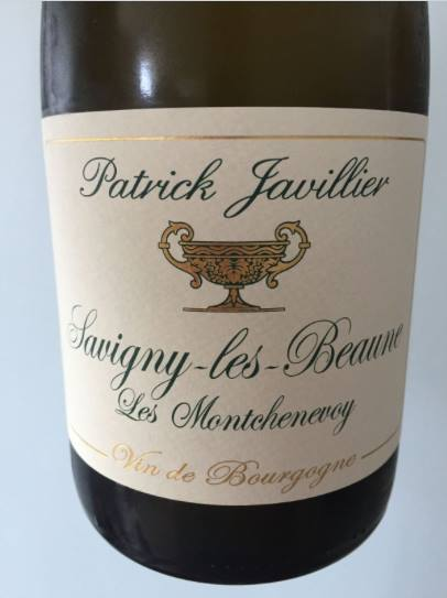 Patrick Javillier – Les Montchenevoy 2015 – Savigny-Les-Beaune