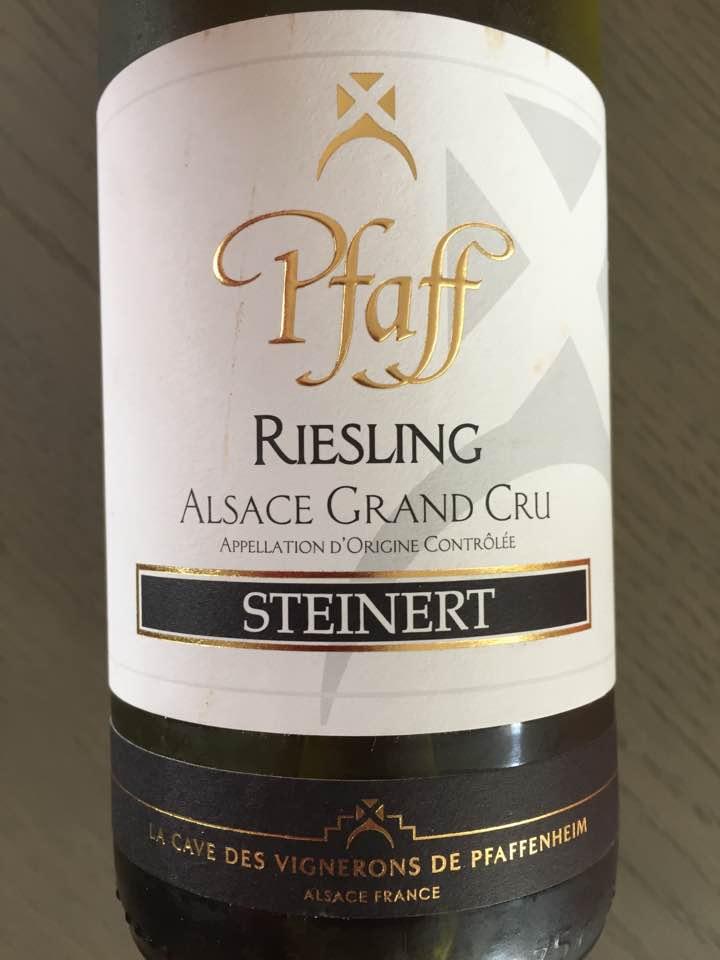 Pfaff – Steinert 2015 Riesling – Alsace Grand Cru