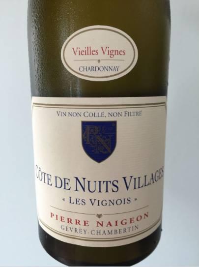 Pierre Naigeon – Les Vignois 2014 – Vieilles Vignes – Côtes de Nuits Villages