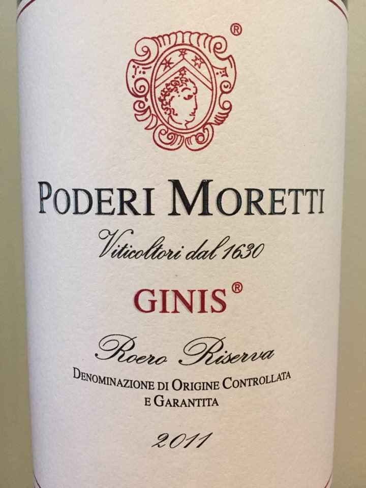 Poderi Moretti – Ginis 2011 – Roero Riserva