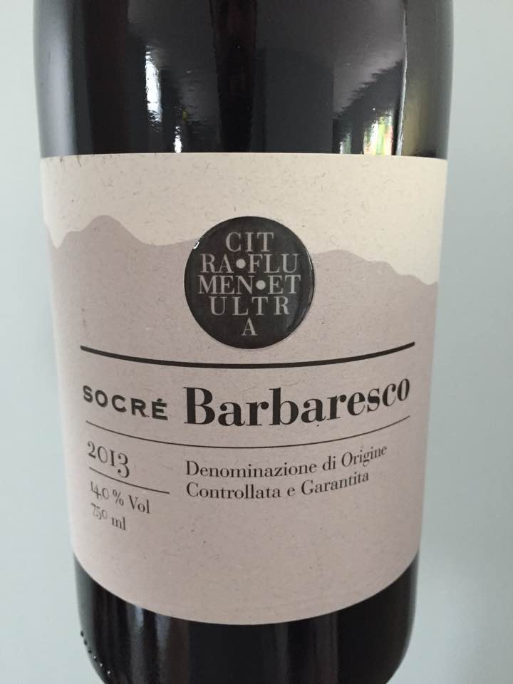 Socré 2013 – Barbaresco  DOCG