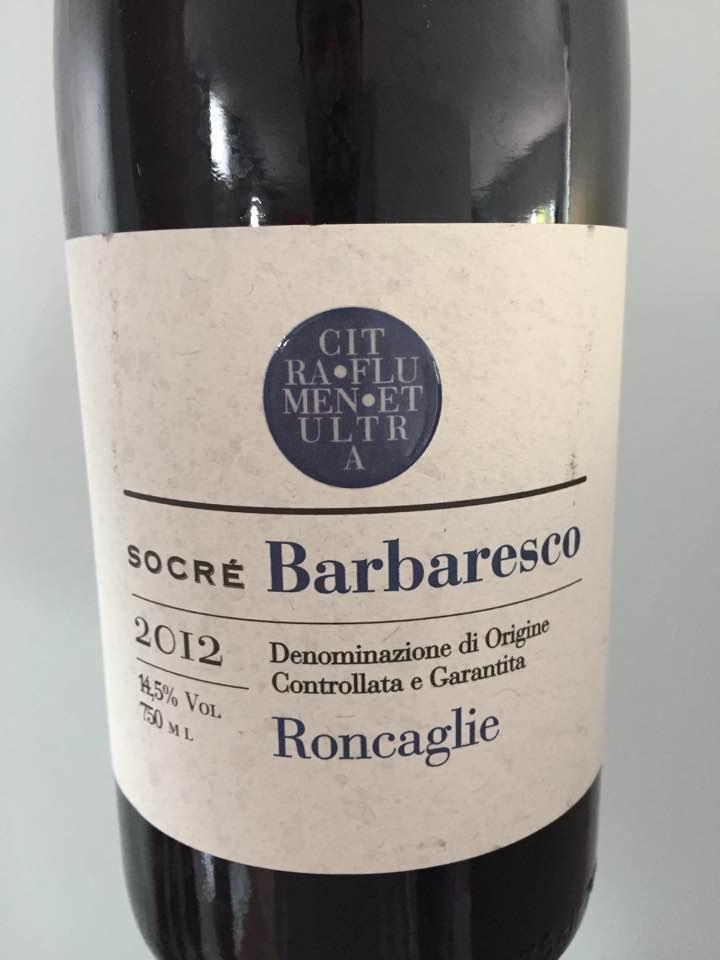 Socré – Roncaglie 2012 – Barbaresco DOCG
