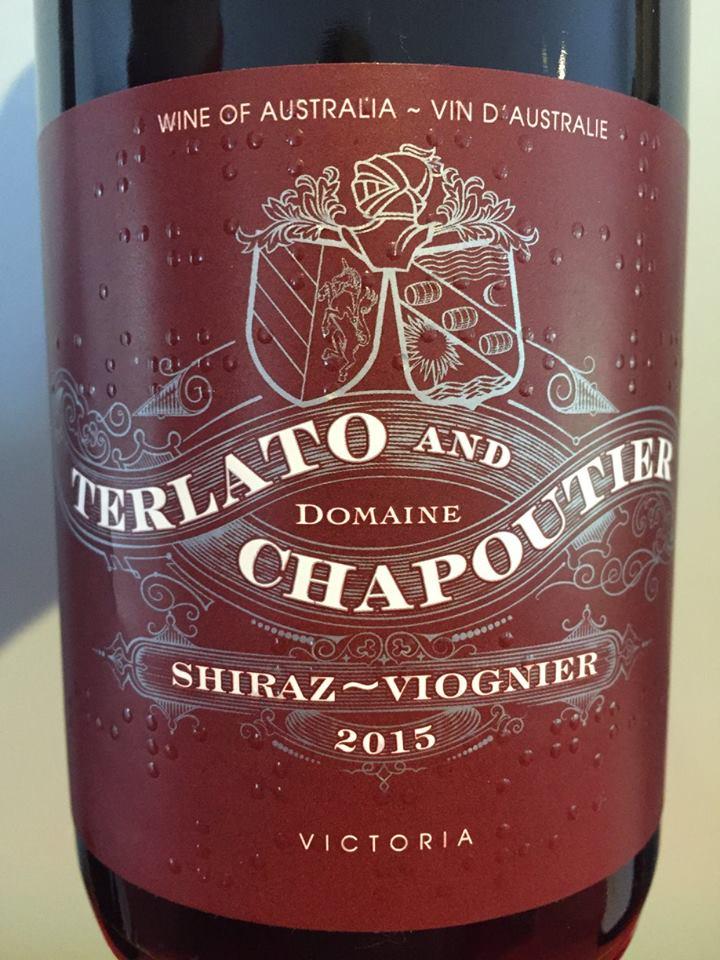 Terlato and Domaine Chapoutier – Shiraz-Viognier 2015 – Victoria