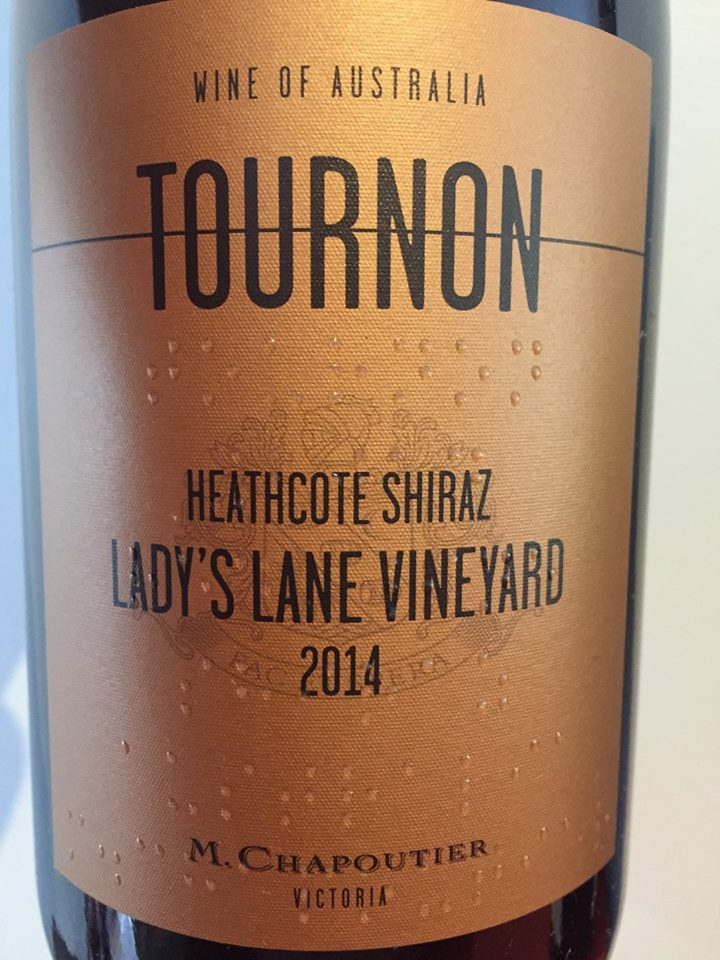 Tournon – Lady's Lane Vineyard 2014 Heathcote Shiraz – Victoria