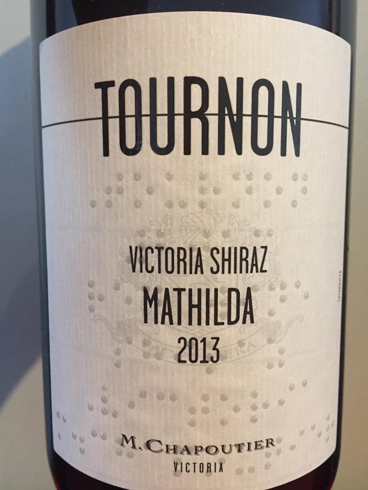 Tournon – Mathilda 2013 Victoria Shiraz – Victoria