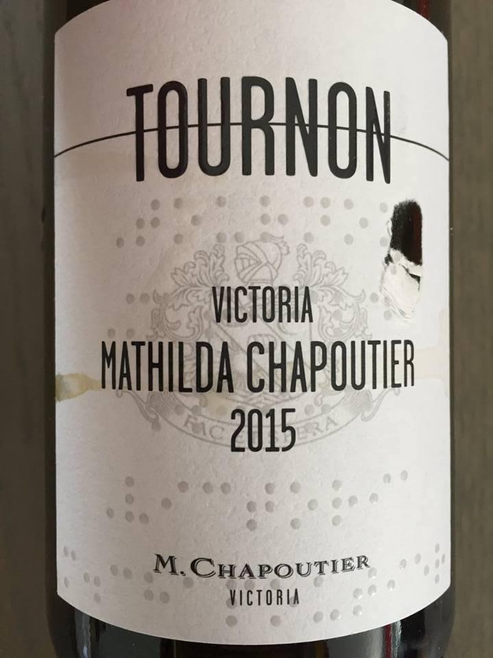 Tournon – Mathilda Chapoutier 2015 – Victoria