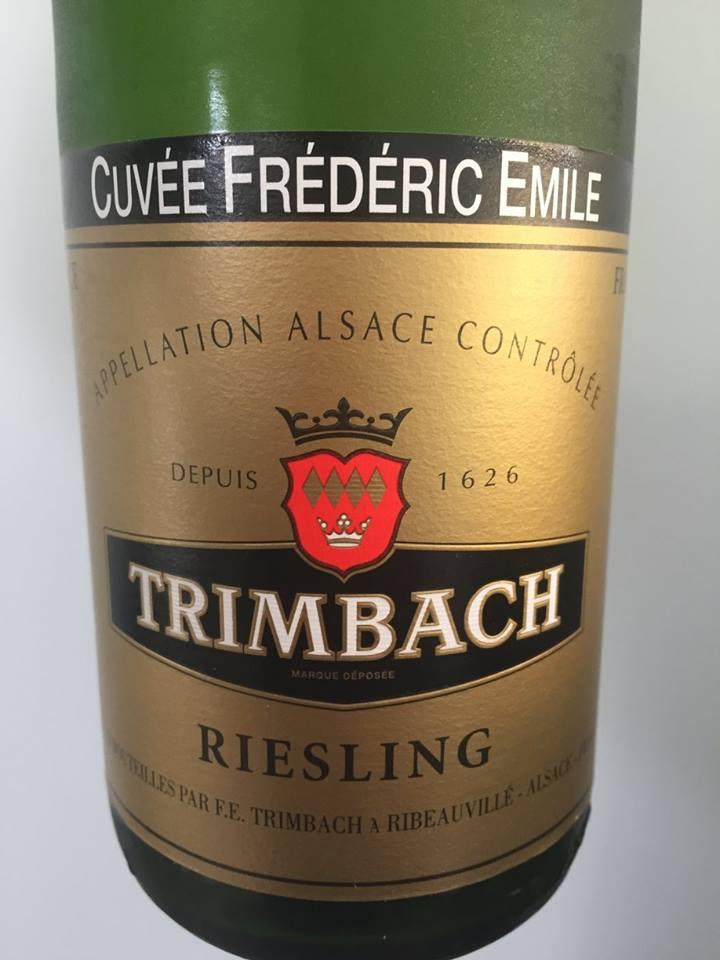 Trimbach – Cuvée Frédéric Emile – Riesling 2008 – Alsace