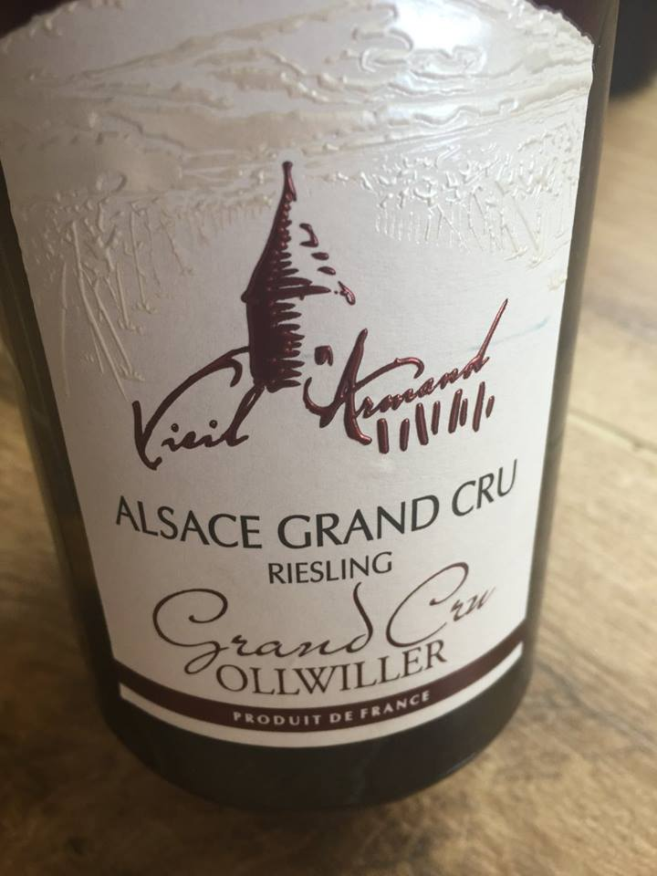 Vieil Armand – Riesling 2015 – Ollwiller – Alsace Grand Cru