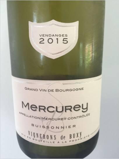Vignerons de Buxy 2015 – Mercurey