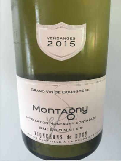 Vignerons de Buxy 2015 – Montagny