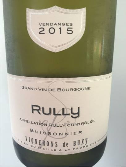 Vignerons de Buxy 2015 – Rully