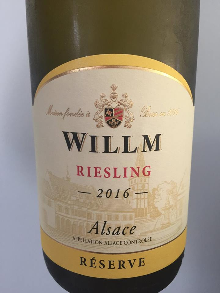 Willm – Riesling 2016 Reserve – Alsace