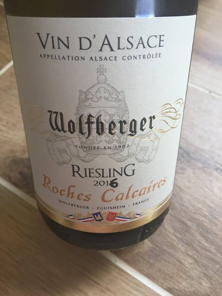Wolfberger – Roches Calcaires – Riesling 2016 – Alsace