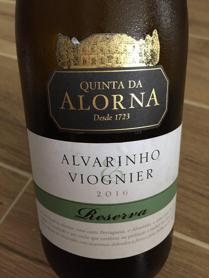 Quinta da Alorna – Alvarinho Viognier 2016 – Reserva – Tejo