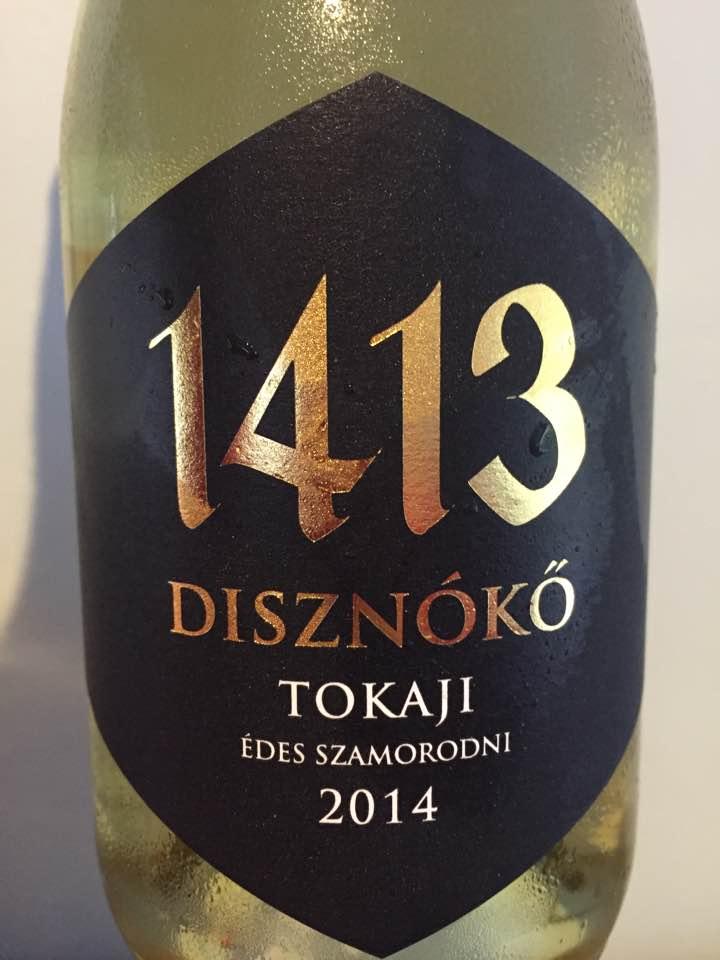 1413 Disznoko – Edes Szamorodni 2014 – Tokaji