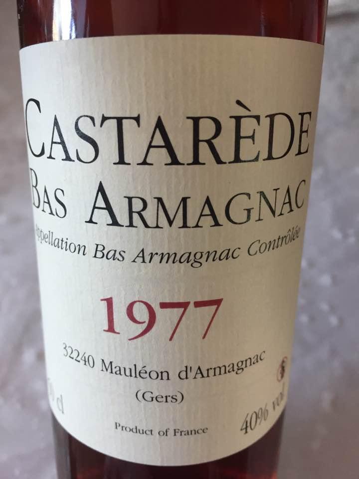 Castarède 1977 – Bas-Armagnac