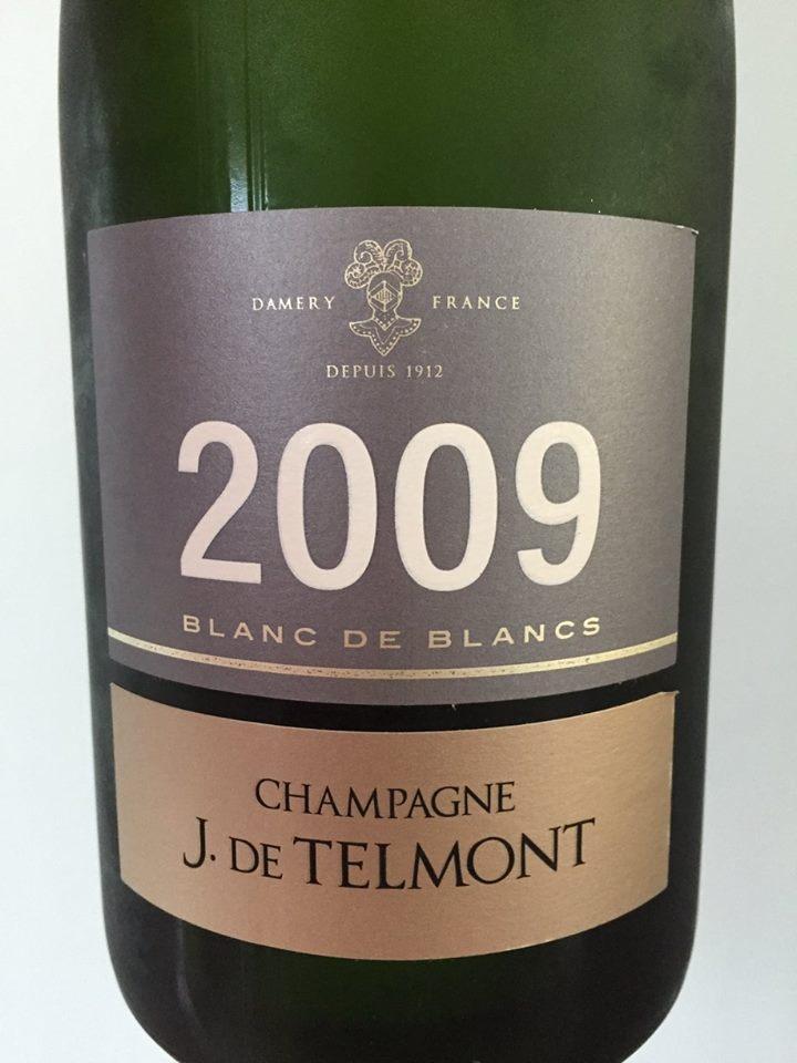 Champagne J. De Telmont – Blanc de blancs 2009 – Brut