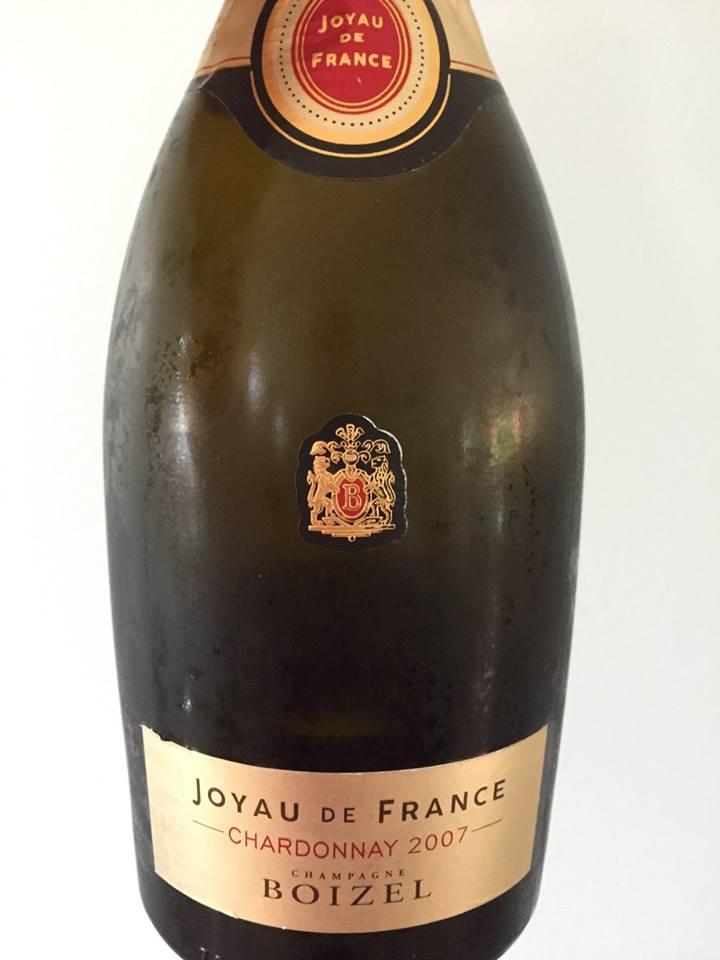 Champagne Boizel – Joyau de France – Chardonnay 2007 –  Brut