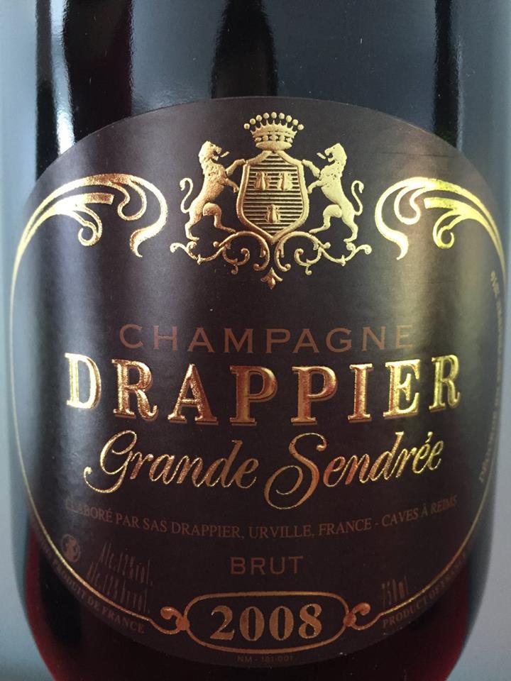 Champagne Drappier – Grande Sendrée 2008 – Brut