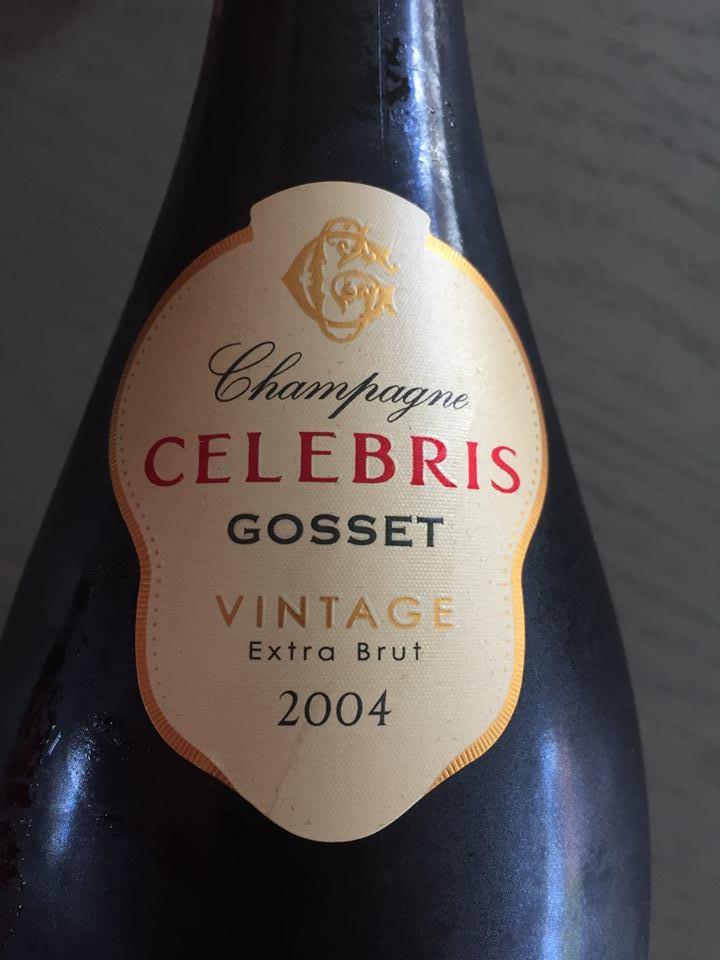 Champagne Gosset – Celebris 2004 – Extra-Brut