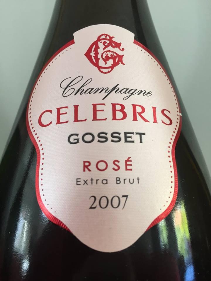 Champagne Gosset – Rosé 2007 – Extra Brut