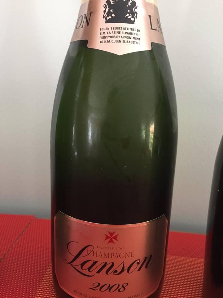 Champagne Lanson – Gold Label 2008 – Brut