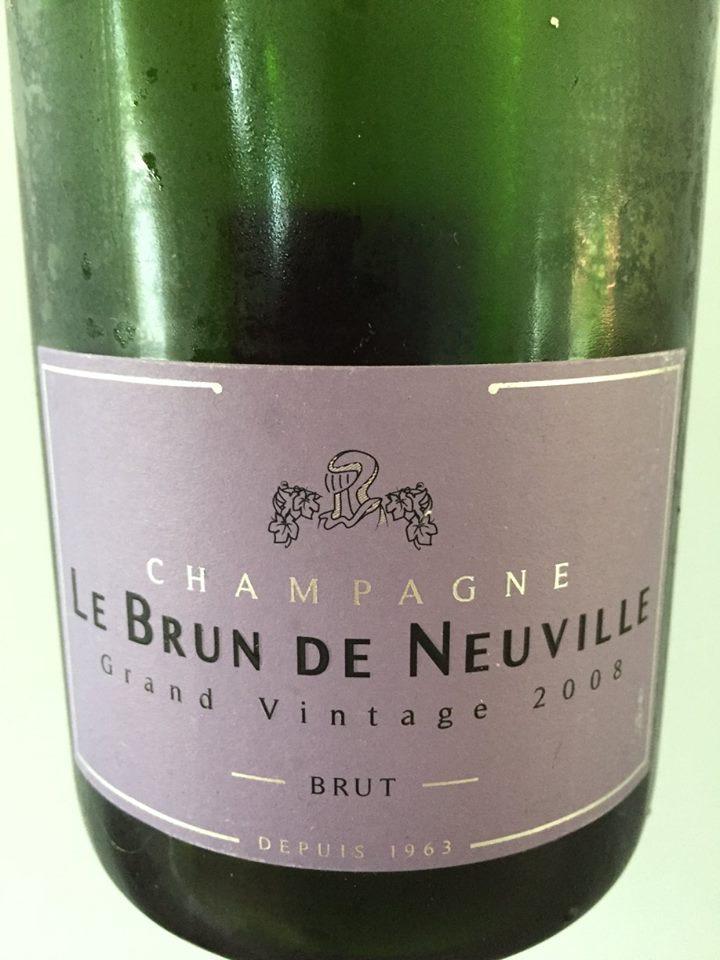 Champagne Le Brun de Neuville – Grand Vintage 2008 – Brut