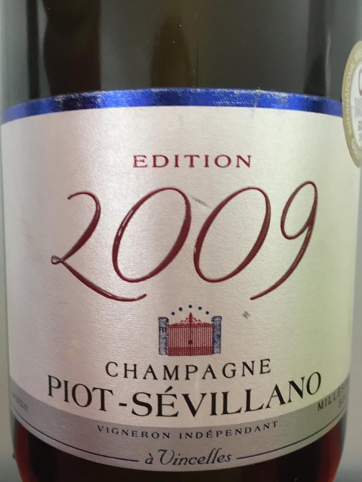 Champagne Piot-Sévillano – Edition 2009 – Brut