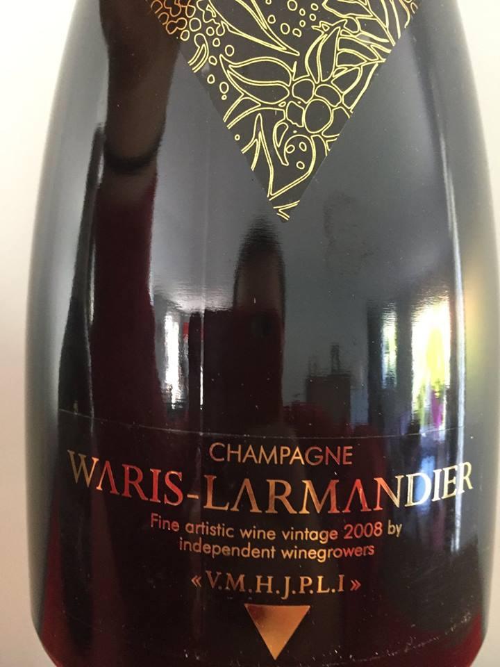 Champagne Waris-Larmandier – V.M.H.J.P.L.I. 2008 – Extra Brut – Grand Cru