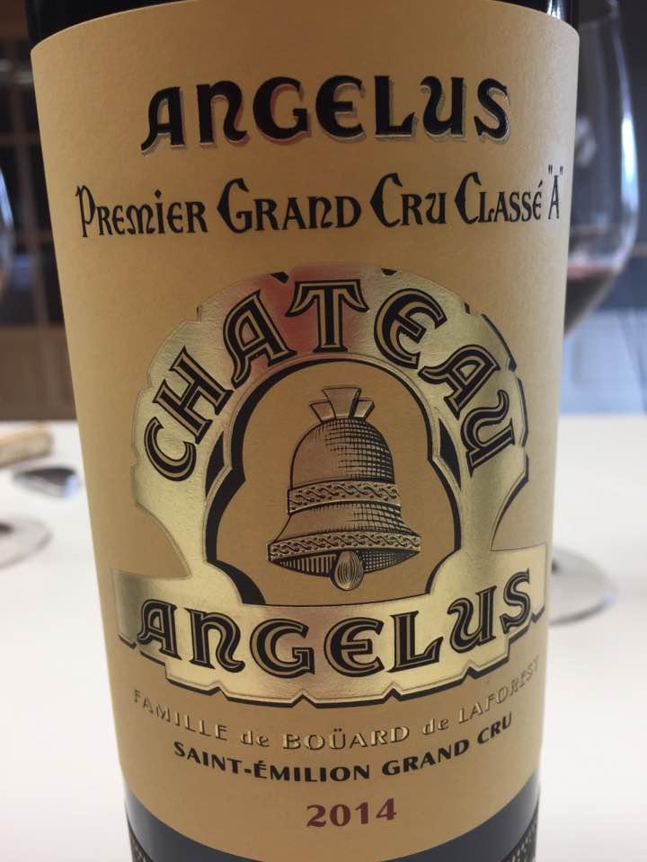 Château Angélus 2014 – Saint-Emilion Grand Cru, 1er Grand Cru Classé A