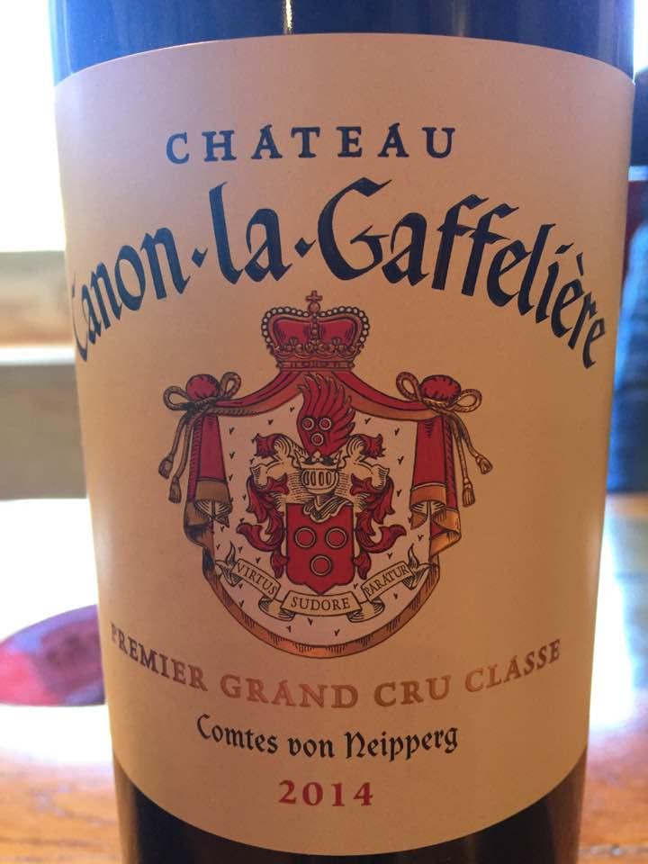 Château Canon-La-Gaffelière 2014 – 1er Grand Cru Classé de Saint-Emilion