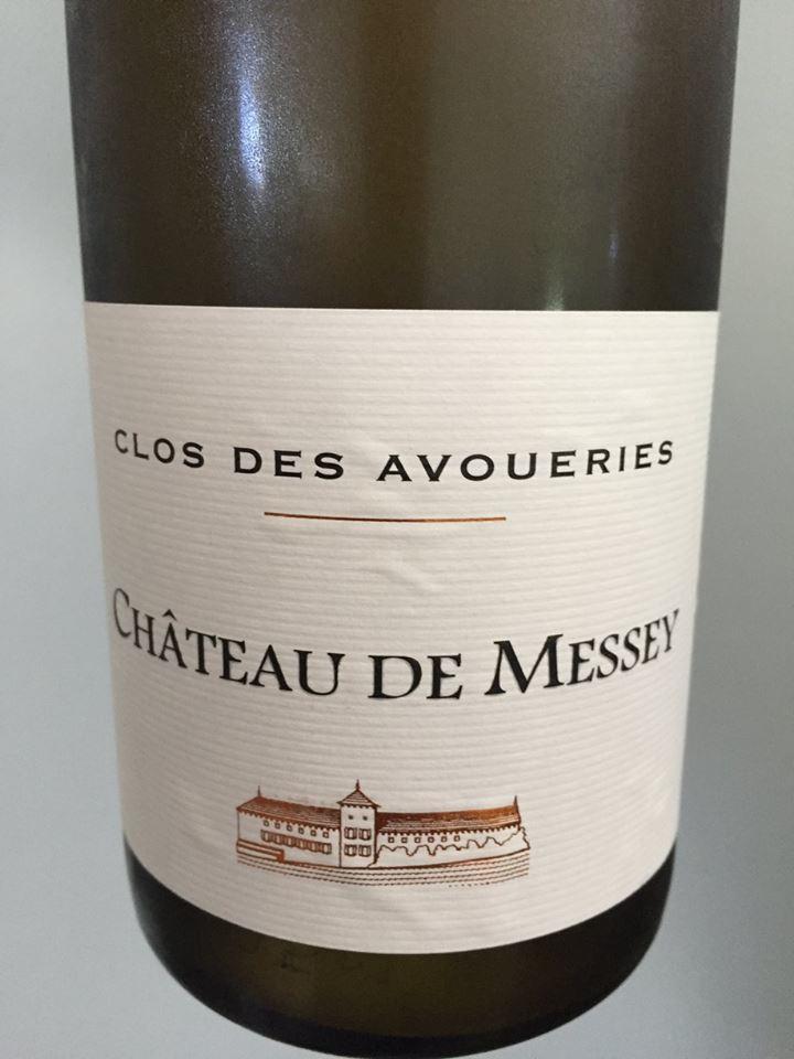 Château de Messey – Clos des Avoueries 2015 – Mâcon Cruzille