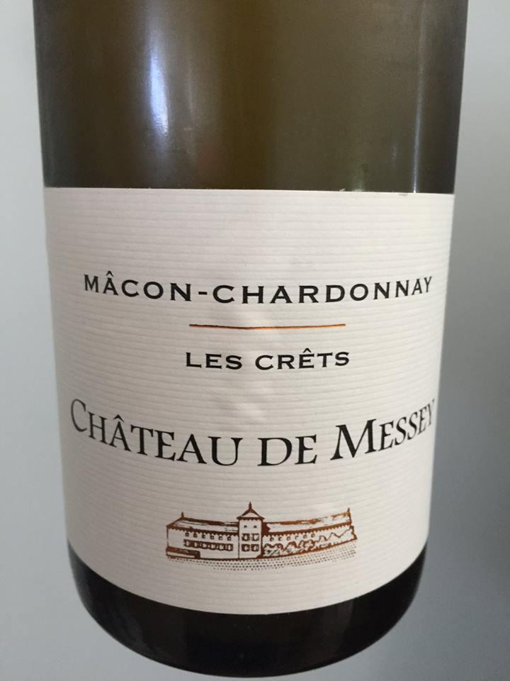 Château de Messey – Les Crèts 2015 – Mâcon-Chardonnay