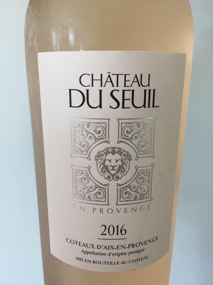 Château du Seuil 2016 – Coteaux d'Aix-En-Provence