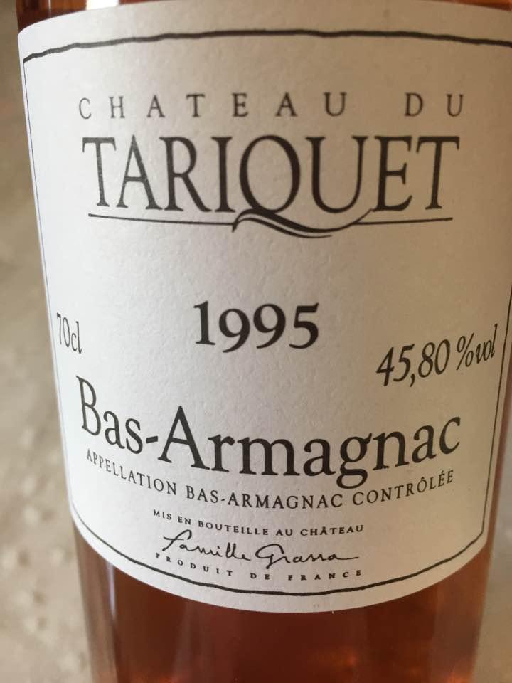 Château du Tariquet 1995 – Bas-Armagnac