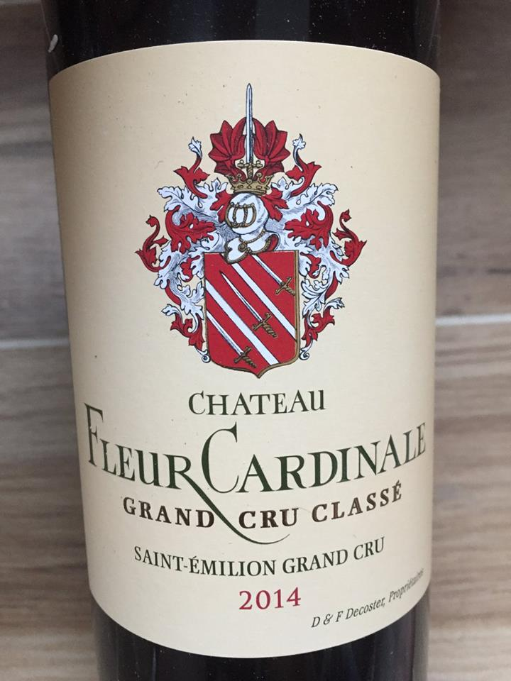 Château Fleur Cardinale 2014 – Saint-Emilion Grand Cru Classé